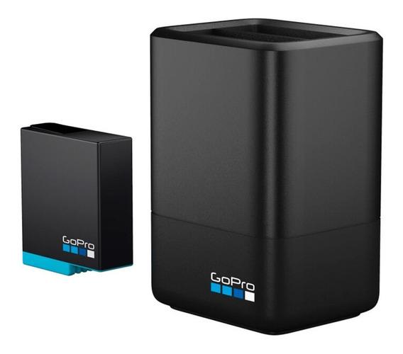 Carregador De Bateria Duplo + Bateria Ajdbd-001 Gopro Hero8