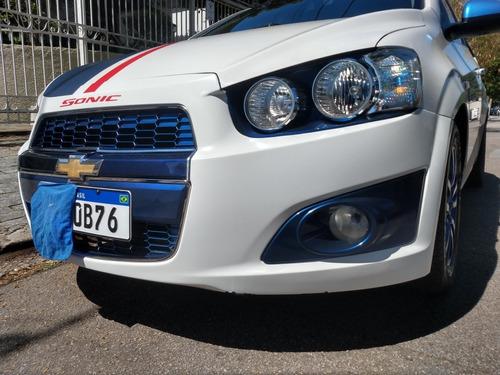 Imagem 1 de 12 de Chevrolet Sonic 2012 1.6 16v Ltz Aut. 5p