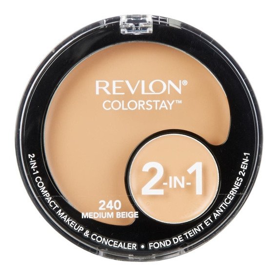 Revlon Compact Make Up & Concealer 240 Medium Beige