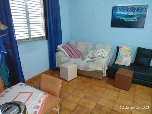 Kitnet Com 1 Dormitório À Venda, 25 M² Por R$ 120.000,00 - Canto Do Forte - Praia Grande/sp - Kn0312