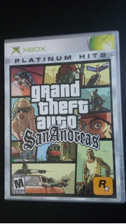 Grand Theft Auto San Andreas (sin Manual) - Xbox Clasica