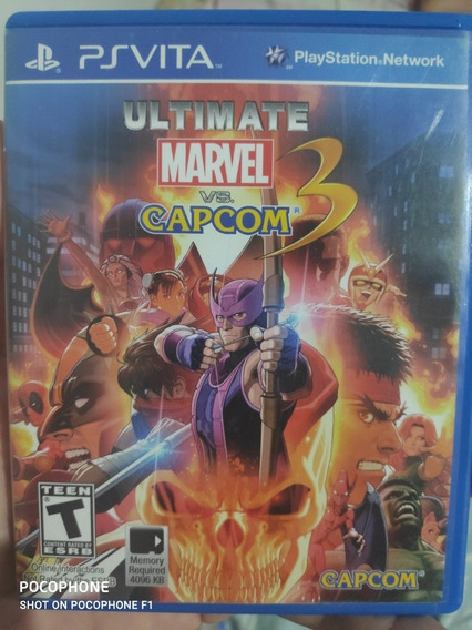 Últimate Marvel X Capcom 3 Ps Vita