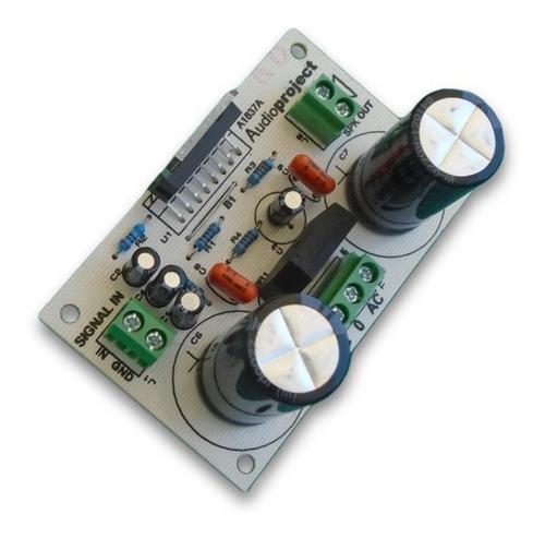 Mini Amplificador 100 Watts Tda7294 C/fuente- Audioproject