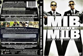 Dvd Hombres De Negro Mib 1 Y 2 Original 2 Discos
