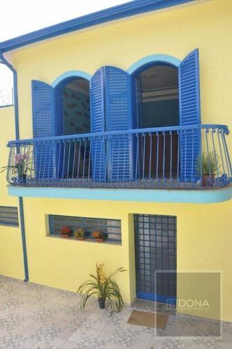 Casa Residencial À Venda, Jardim Guarani, 3 Dormitórios, Campinas. - Ca0064