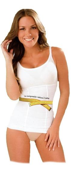 Faja Reductora Camiseta Con Top Body Siluette Modelo 205