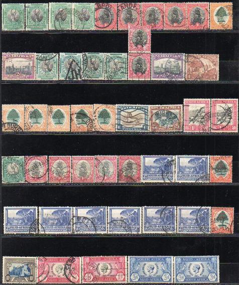 Africa Del Sur 1926/1974. Pequeño Lote De 81 Sellos Usados