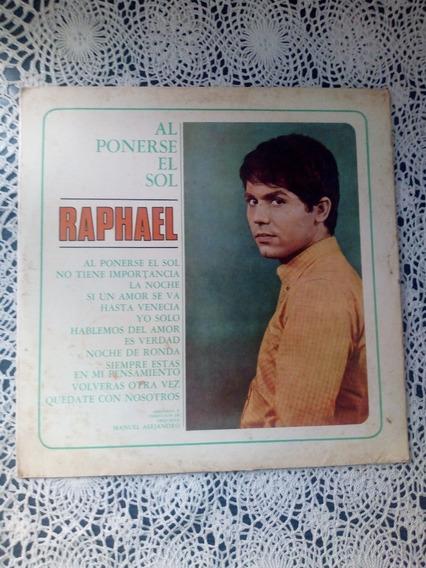 Raphael Al Ponerse El Sol (disco De Vinilo)