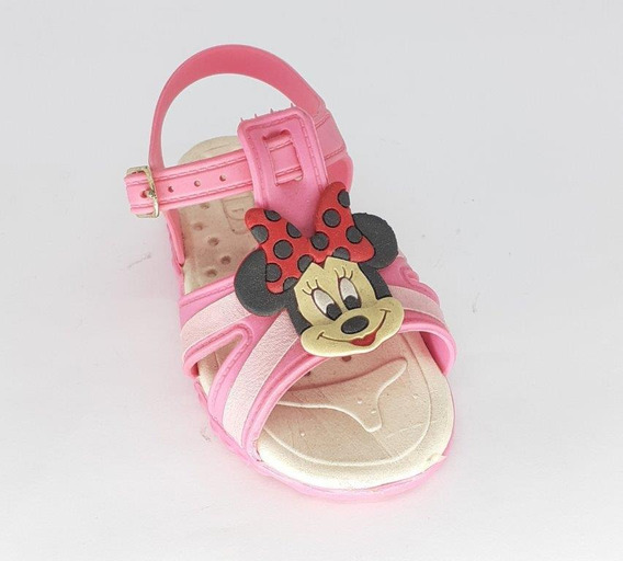 Sandalia Infantil Baby Kids Minnie