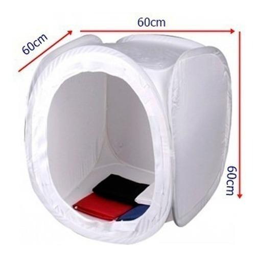 Tenda Difusora Mini Estúdio Fotográfico 60x60 Foto Still
