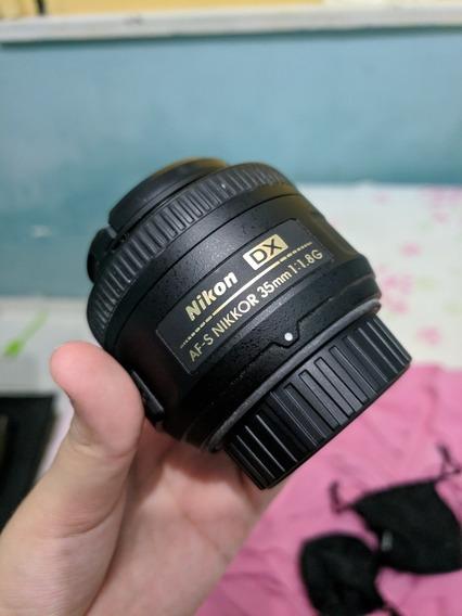 Lente Nikkor 35mm 1.8