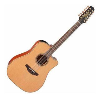 Guitarra E/a Takamine P1dc-12 Cuerdas Zurda Incluye Estuche