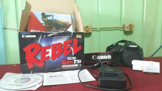 Canon T5i Corpo Sem Lente