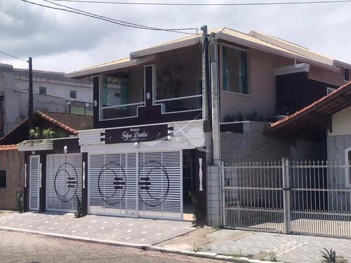 Imagem 1 de 21 de Sobrado De Condomínio Em Praia Grande, Caiçara - V5330