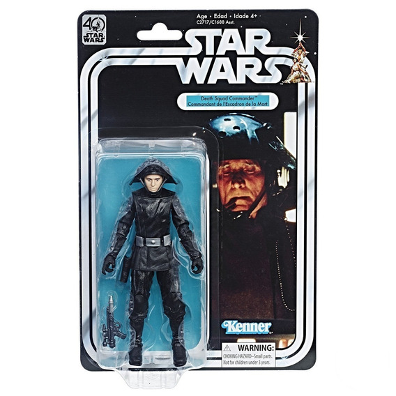 Star Wars 40th Anniversary Vintage Death Squad Commander