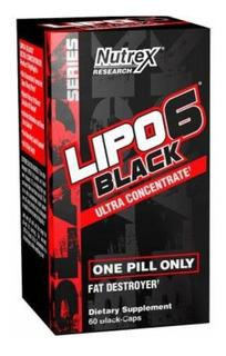 Lipo 6 Black Nutrex 60caps Termogênico - Original