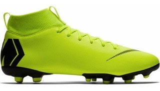 Chuteira Nike Campo Masculino Superfly 6 Academy Fg/mg Vde