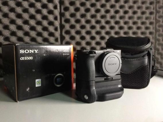 Kit Sony A6500 - Imperdível - Apenas 6 Meses De Uso