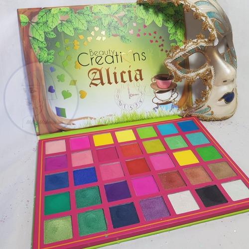 Imagen 1 de 4 de Paleta Alicia Beauty Creations