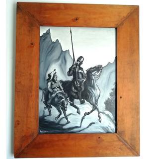 Pintura Al Óleo El Quijote