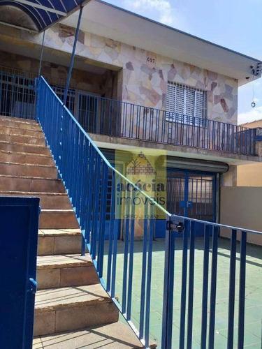 Imagem 1 de 30 de Casa Com 3 Dormitórios, 225 M² - Venda Por R$ 2.000.000,00 Ou Aluguel Por R$ 7.000,00/mês - Jardim Santo Elias - São Paulo/sp - Ca0957