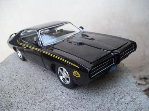 Pontiac Gto Judge 1969 1/24 Motormax Auto A Escala