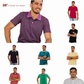 Kit Atacado 30 Camisetas Polo Tolentex Cor Variada Promoção