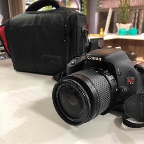 Canon T3i + Lente 18-55mm Kit Usada