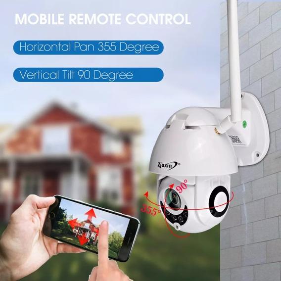 Camara Ip Wifi Exterior Ptz. Graba 32g En Hd. Fácil Configur