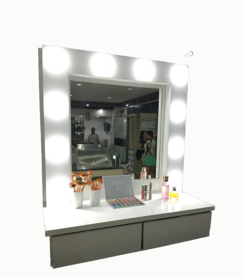 Espejo Camerino Para Maquillaje Con Luz Led
