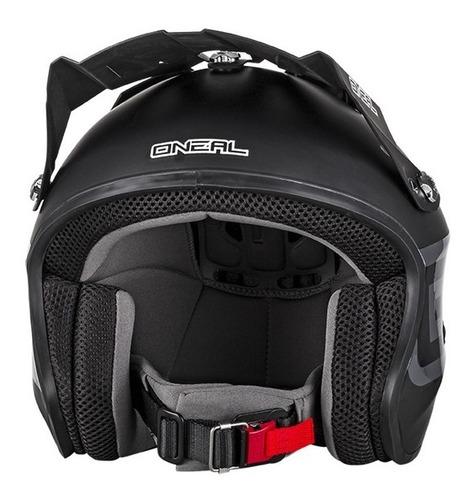 Casco Slat Solid Matte Oneal Plr Motocross Certifica Dot