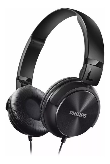 Headphone Philips Estilo Dj Bass Shl 3060 Original Lacrado