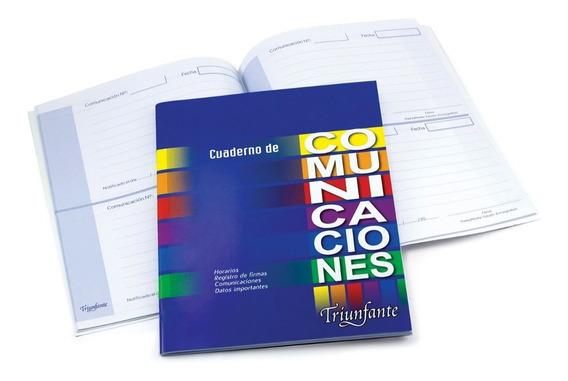 Cuaderno De Comunicaciones Triunfante 24 H T/flexible
