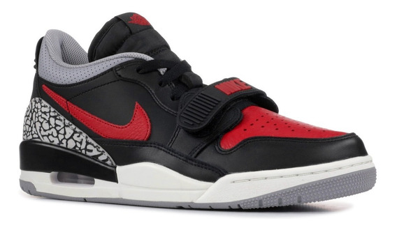 Tenis Nike Air Jordan Legacy 312 Low Bred Cement Originales