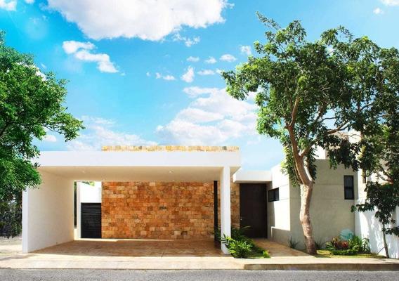 Excelentes Casas A Estrenar En Privada Residencial En Temozón