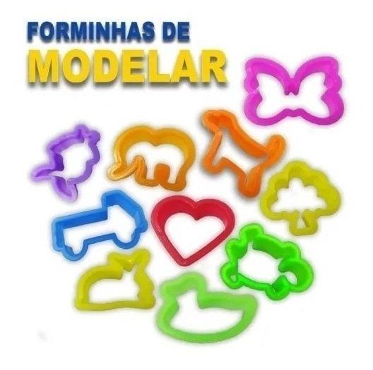 150 Cortador Forminhas De Modelar Massinha Promoção Atacado