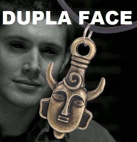 Colar Supernatural Dean Winchester Amuleto ( Frete R$15,00 )