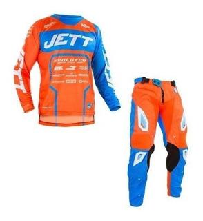 Conjunto Motocross Jett Evolution 2 2019 Lançamento