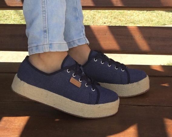 Tênis Jeans Flatform