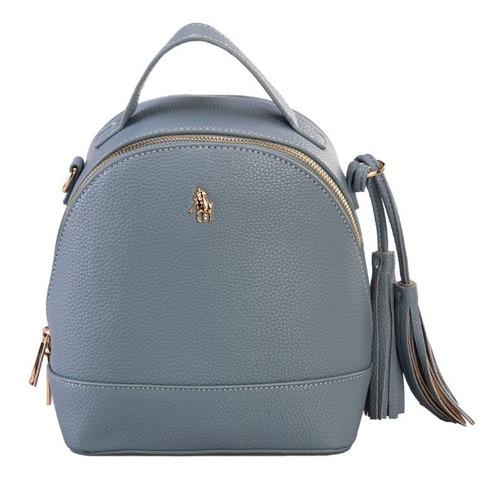 Imagen 1 de 8 de Backpack Hpc Polo Con Logo De La Marca En Granulada