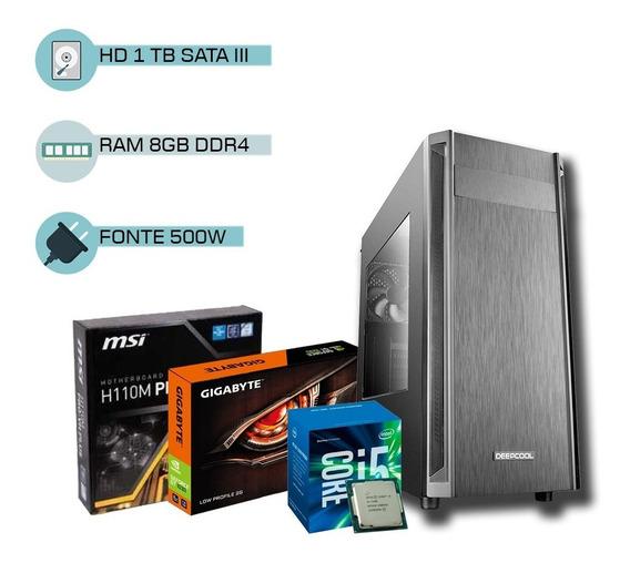 Pc Gamer I5 7400, Geforce 2gb 1030 Gt, 8gb Ddr4, Hd 1tb + Nf