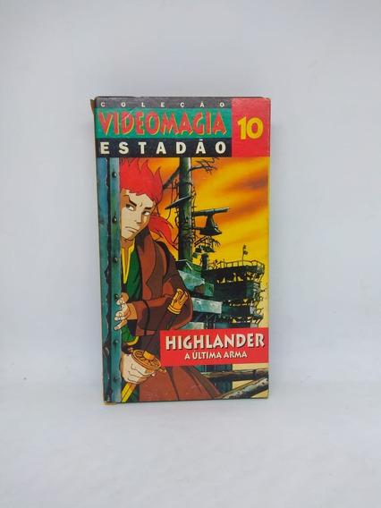 Fita Vhs Highlander Coleção Videomagia Estadão Vol. 10