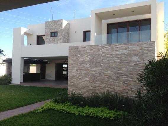 Estrene Moderna Residencia En Temozon Norte
