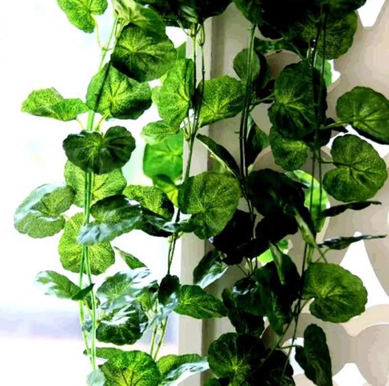 Enredadera Hiedra Artificial 2,20mts Jardin Vertical X 12 Unidades, Bazar_19, Local En Flores !