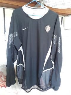 Camisa Belgica Nike Goleiro Copa 2002 Japao Dupla Camada