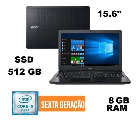 Notebook Acer I5 8gb Ssd 512 Tela De 15 Ótimo Estado