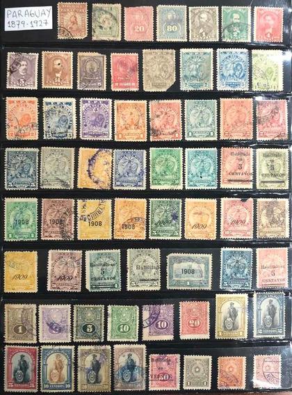 Estampillas Paraguay Raro Y Valioso Lote Antiguo Leer