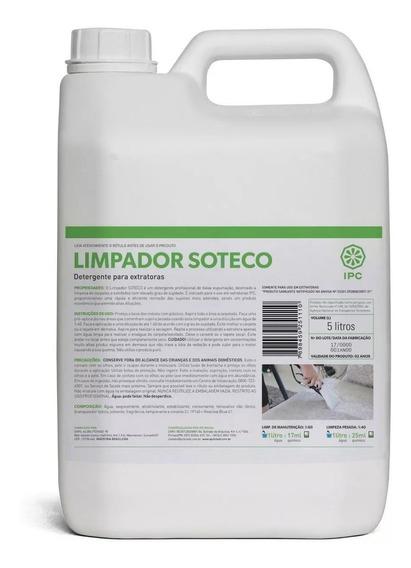 Detergente Limpador P/ Extratora 5 Litros Sbn4171 Ipc