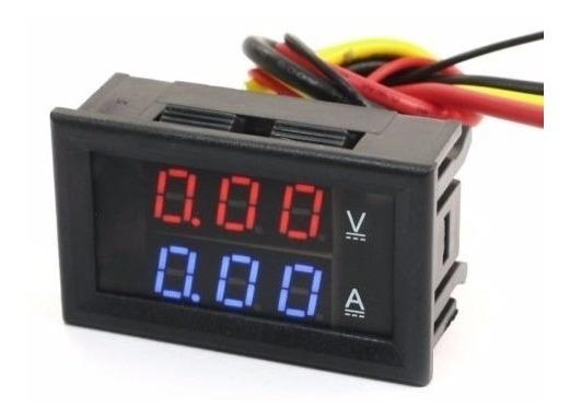 Kit 10 Voltímetro Amperímetro Digital Dc 0-100v 0-10a