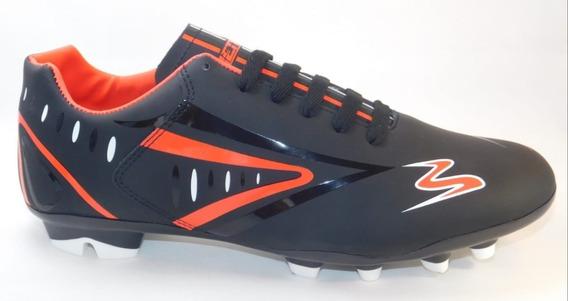 Calzado Futbol Soccer Negro/rojo/blanco Cod.434